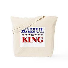 RAHUL for king Tote Bag