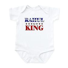 RAHUL for king Infant Bodysuit
