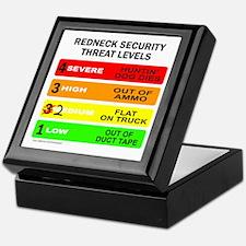 REDNECK SECURITY THREAT Keepsake Box