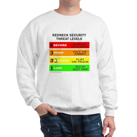 REDNECK SECURITY THREAT Sweatshirt