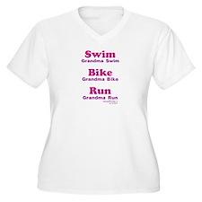 Triathlon Grandma T-Shirt