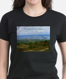 Porcupine Islands (caption) Tee