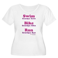 Triathlon Grandpa T-Shirt