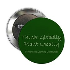 "Think Globally 2.25"" Button (10 pack)"