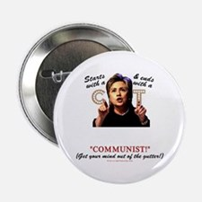 """Starts with C"" anti-Hillary 2.25"" Button"