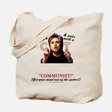 """""""Starts with C"""" anti-Hillary Tote Bag"""