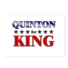 QUINTON for king Postcards (Package of 8)