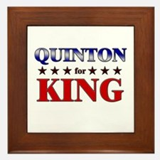 QUINTON for king Framed Tile