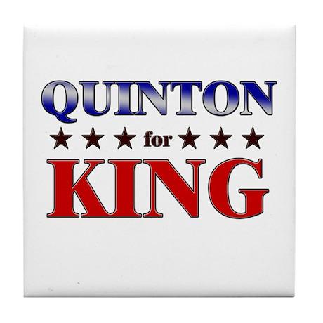 QUINTON for king Tile Coaster