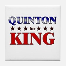 QUINTON for king Tile Coaster