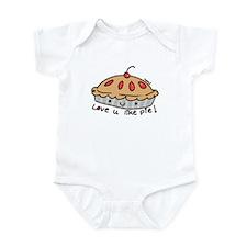 like pie Infant Bodysuit