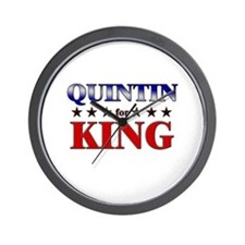 QUINTIN for king Wall Clock