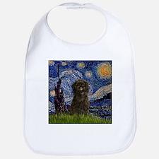 Starry Night & Affenpinscher Bib