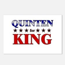 QUINTEN for king Postcards (Package of 8)
