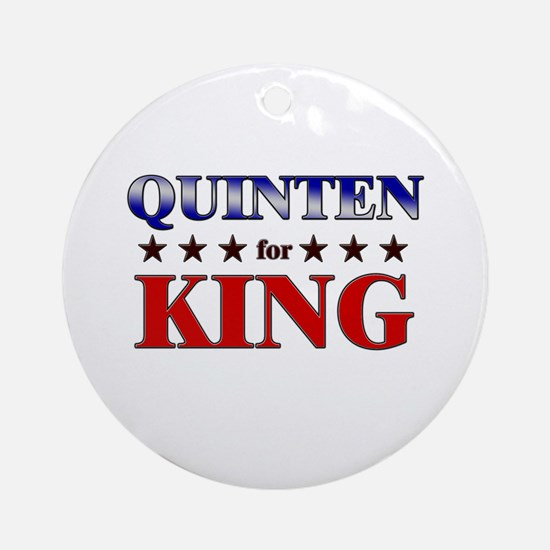 QUINTEN for king Ornament (Round)