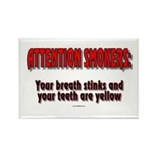 Attention Smokers: Your Breath Stinks & Your Teeth