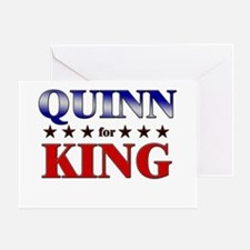 QUINN for king Greeting Card