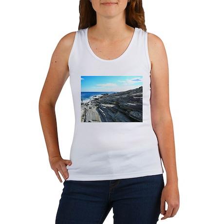 Pemaquid Point (no caption) Women's Tank Top