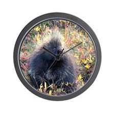 Porcupine Wall Clock