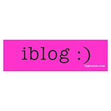 I BLOG Bumper Bumper Sticker