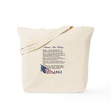Timeline 1863 Tote Bag