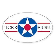 Torrejon Air Base Oval Decal
