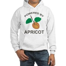 Powered By Apricot Hoodie