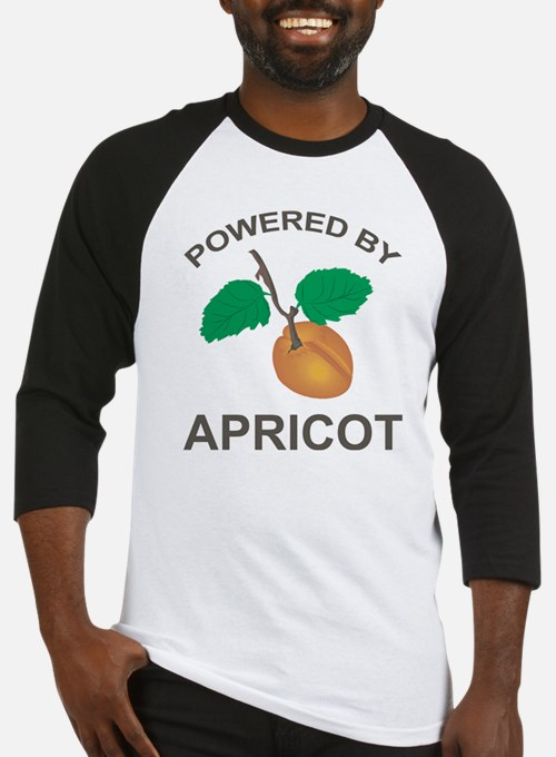 Powered By Apricot Baseball Jersey