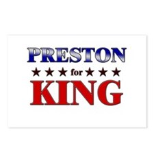 PRESTON for king Postcards (Package of 8)