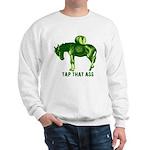 Tap That Ass Donkey Beer Keg Sweatshirt