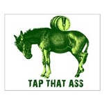 Tap That Ass Donkey Beer Keg Small Poster
