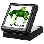 Tap That Ass Donkey Beer Keg Keepsake Box