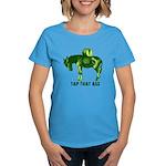 Tap That Ass Donkey Beer Keg Women's Dark T-Shirt