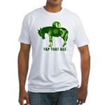 Tap That Ass Donkey Beer Keg Fitted T-Shirt