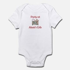 Party at Alexis's Crib Infant Bodysuit