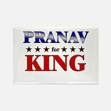 PRANAV for king Rectangle Magnet