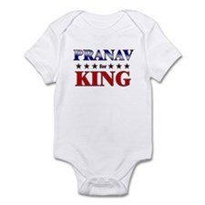 PRANAV for king Infant Bodysuit