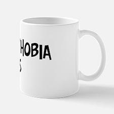 trypanophobia sucks Mug