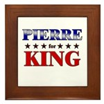 PIERRE for king Framed Tile