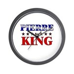 PIERRE for king Wall Clock