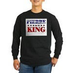 PIERRE for king Long Sleeve Dark T-Shirt