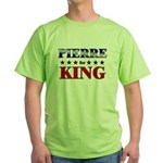 PIERRE for king Green T-Shirt