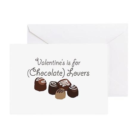 chocolate lovers Greeting Card