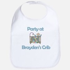 Party at Brayden's Crib Bib