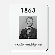 Timeline 1863 Mousepad