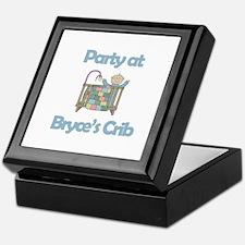 Party at Bryce's Crib Keepsake Box