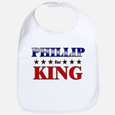 PHILLIP for king Bib