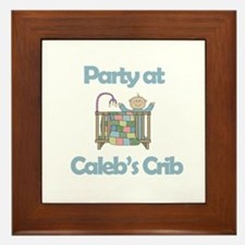 Party at Caleb's Crib Framed Tile