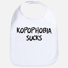 kopophobia sucks Bib