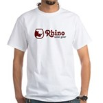Rhino Wine Gear White T-Shirt